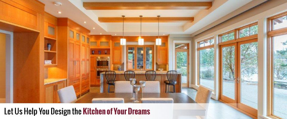 Let us help you design the kitchen of your dreams
